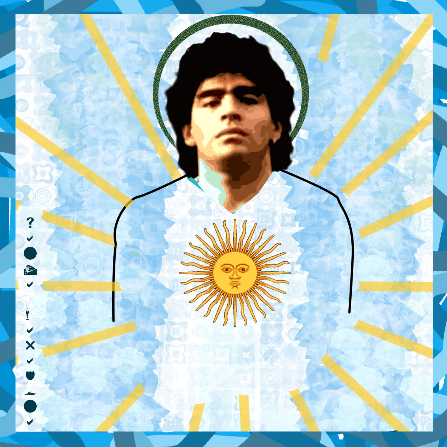 maradona - argentina travel tours - vaya adventures south america