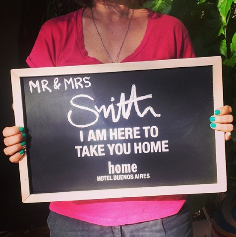 Friday, it's a takeover @smithhotels all the way from sunny Buenos Aires @homehotelba #homehotel #homebuenosaires #buenosaires #smithsday #smithstagram