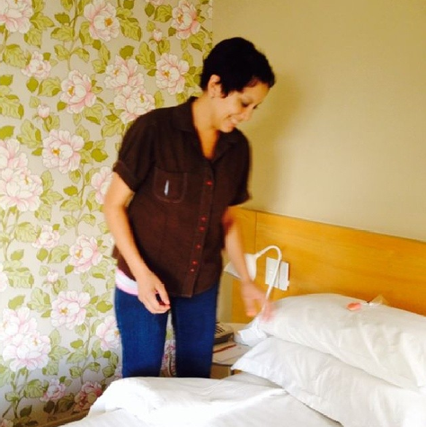 Turndown time. More behind the scenes @homehotelba #homehotelbuenosaires #wehavetheloveliestmaids #smithstagram #smithsday
