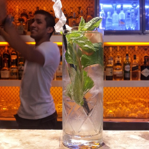 Cocktail o'clock @homehotelba. Now ponder dinner options. Will it be steak, ceviche or modern argentine? All just steps from Home. #gastrochoices #palermohollywood #buenosaires #smithstagram #smithsday #cheers