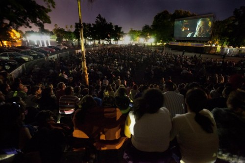 autocine: Movies under the stars in Palermo
