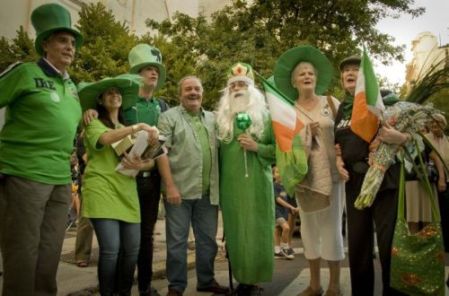 st patricks celebrations in buenos aires
